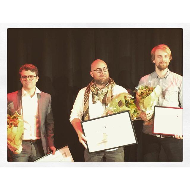 Gratulerer @vegardvenli Anders Fjellberg og Tomm W. Christiansen med Den store #journalistprisen #pressefrihetensdag #journalistikk #pressefrihet #...