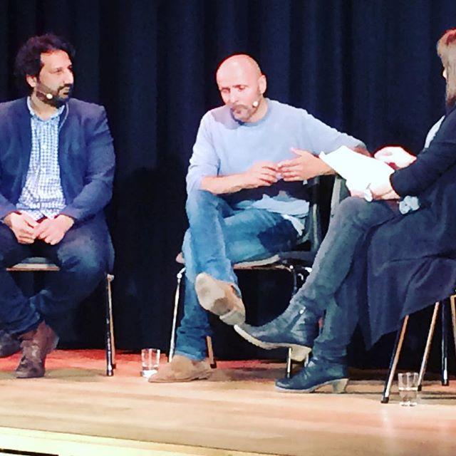 Journalist og medmenneske - hvordan takle dilemmaene mellom rollene? Kadafi Zaman og Åge Winge i samtale med Annette Groth på #pressefrihetensdag s...
