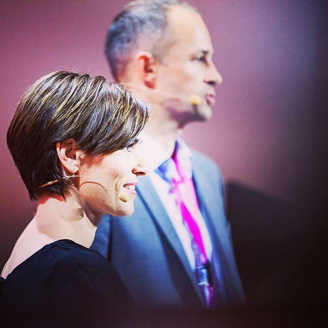 Takk til @dyvekemaiken @tormorseth og alle dere andre som bidro på scenen og i salen på #medieleder17 i Trondheim denne uka. Og en særlig takk til...
