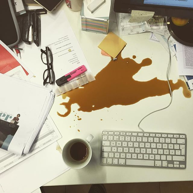 Varför händer det här alltid när det är #deadline !?