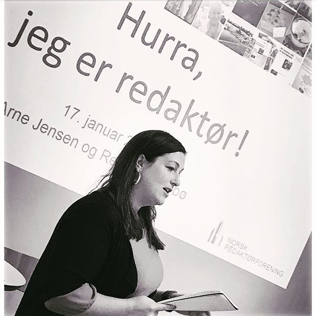 Astrid Kvam Helset har vært redaktør i @viggalokalavis på Dombås siden i fjor sommer. Onsdag var hun på vårt velkomstseminar for nye medlemmer og s...