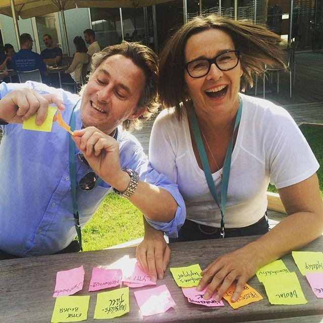@espen_stensrud og @bshestvik leker seg med adjektiver #rampete #redaktører #redaktørliv #strategi #hvorskalvihen