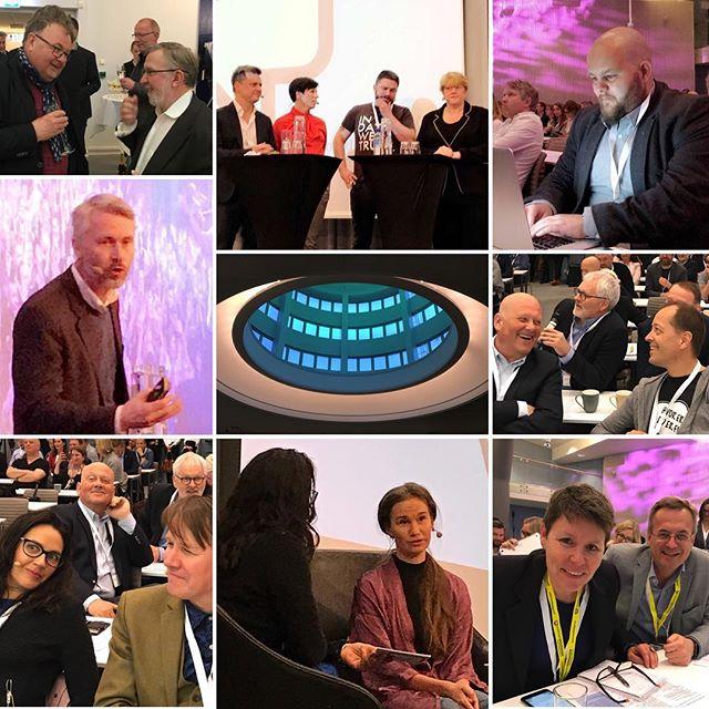 Glimt fra gårdagens #medieleder2018 Tusen takk til møteledere, innledere, debattanter og deltakere. Takk for innspill, ros, ris, gode debatter og b...