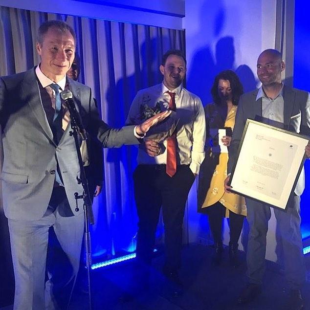 Gratulerer @sveinungwjensen og @lister24 som Årets lokalavis 2018