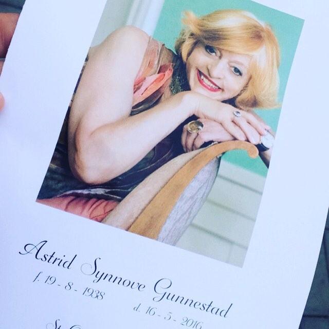 I dag har vi tatt farvel med Astrid Gunnestad - et av de mest  fargerike medlemmene i Norsk Redaktørforening noensinne.