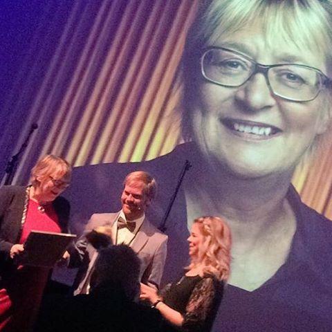 @karijsorbo får hedersprisen #bradame